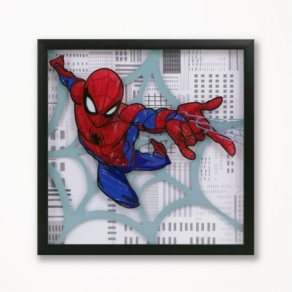 Disney Marvel Spider-Man Framed Wall Art MultiColoured
