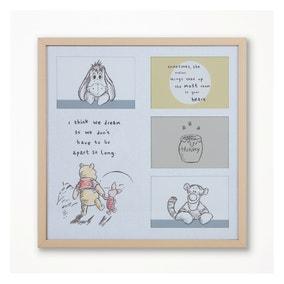 Winnie the Pooh Framed Wall Art