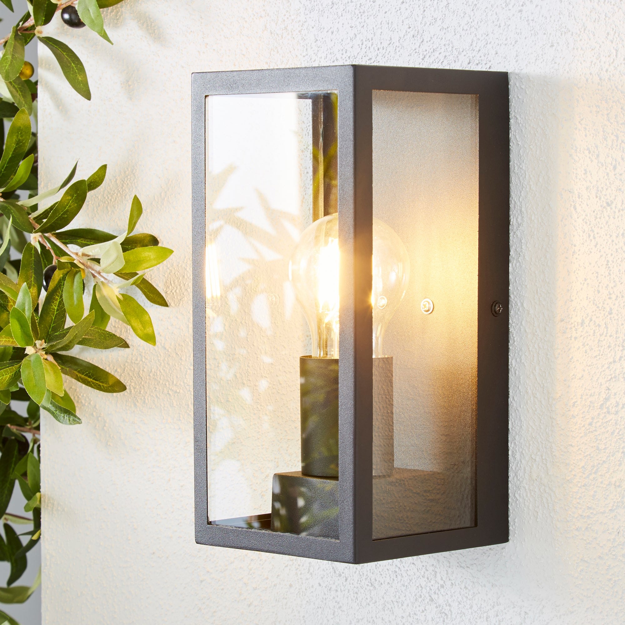 Click to view product details and reviews for London Black Industrial Outdoor Wall Light Black.