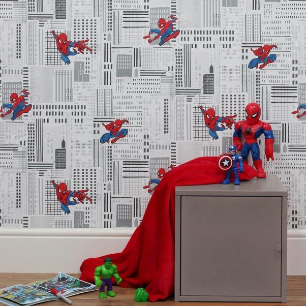 Disney Marvel Spider-Man Wallpaper Blue