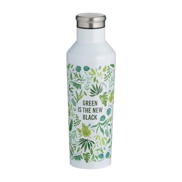 Typhoon 500ml Double Wall Insulated Water Bottle Green