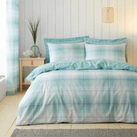 Albie Blue Reversible Duvet Cover and Pillowcase Set