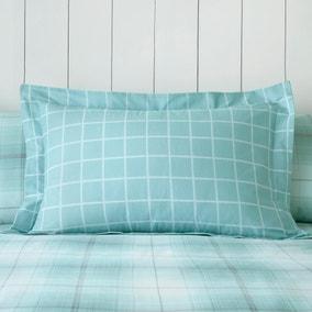 Albie Blue Oxford Pillowcase