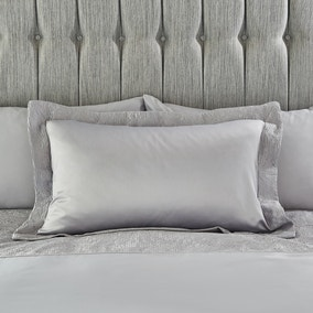 Alexei Silver Oxford Pillowcase