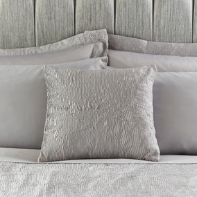 Alexei Silver Square Cushion