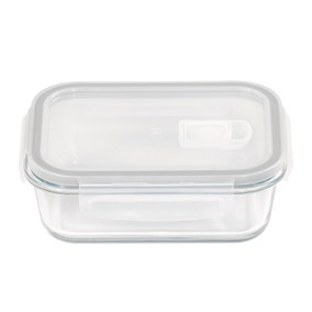 Borosilicate Glass 610ml Food Storage with Vented Lid