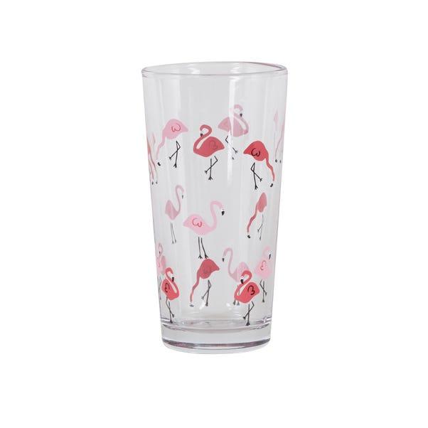 Flamingo Pink Glass Pink
