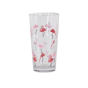 Flamingo Pink Glass