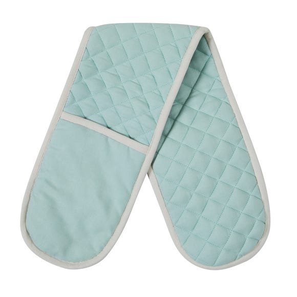 Seafoam Blue Double Oven Glove