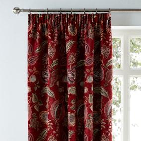 Edina Chenille Pencil Pleat Curtains