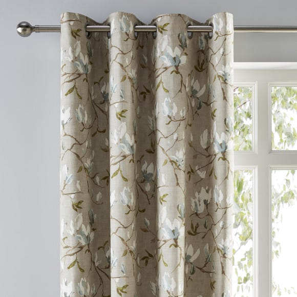 Magnolia Green Eyelet Curtains  undefined