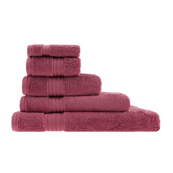Egyptian Cotton Rose Towel Rose (Pink) undefined