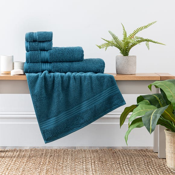 Egyptian Cotton Peacock Towel  undefined