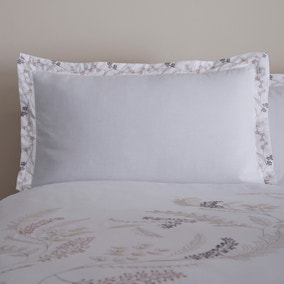 Macie Embroidered Oxford Pillowcase