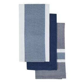 Pack of 3 Zen Stripe Tea Towels
