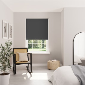 Charcoal Blackout Roller Blind