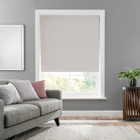 Solar Ivory Blackout Roller Blind