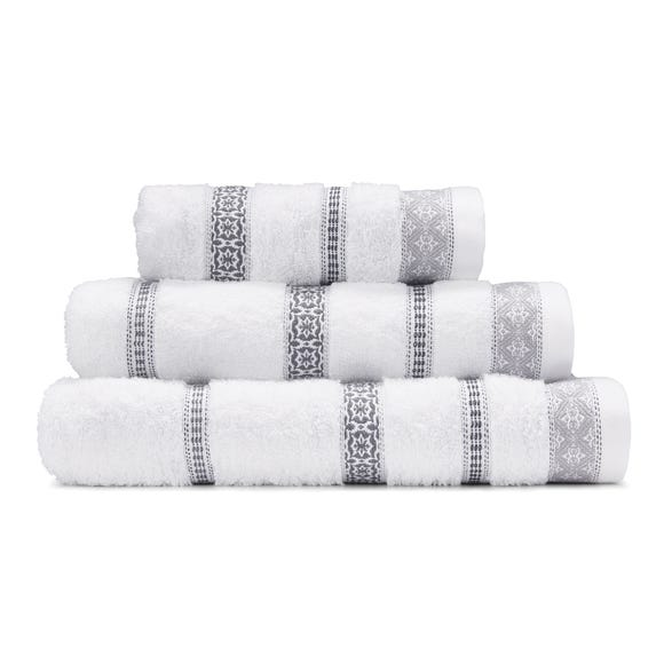 Alaya Grey Towel  undefined