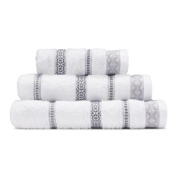 Alaya Grey Towel Grey undefined
