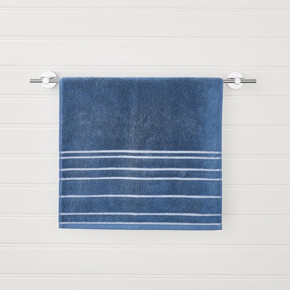 Nautical Stripe Blue Towel  undefined
