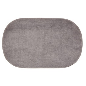 Elements Geo Capsule Grey Bath Mat