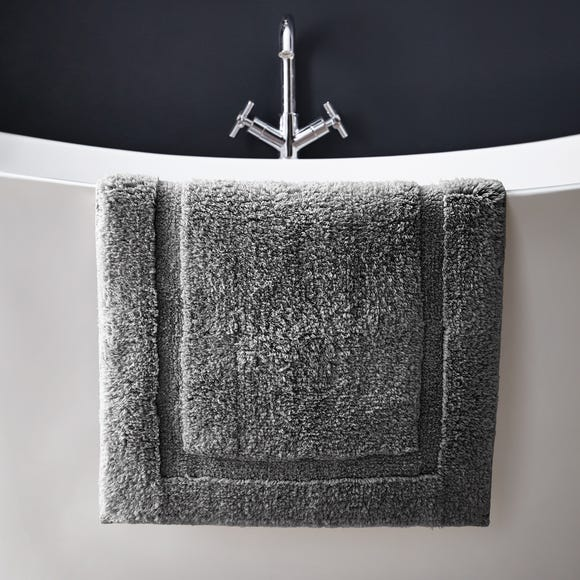Hotel Cotton Slate Bath Mat