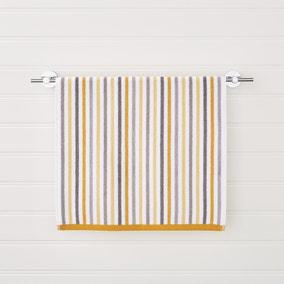 Ashbourne Stripe Ochre Towel