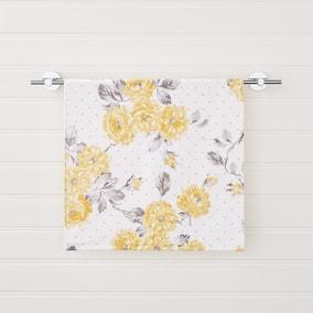 Ashbourne Floral Ochre Hand Towel