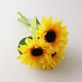Artificial Sunflower Yellow Bundle 30cm