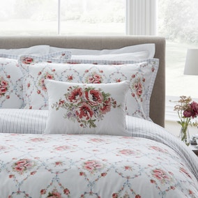 Dorma Marden Embroidered Cushion
