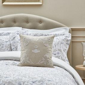 Dorma Embroidered Bee Cushion