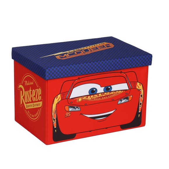 Disney Cars Collapsible Ottoman Red