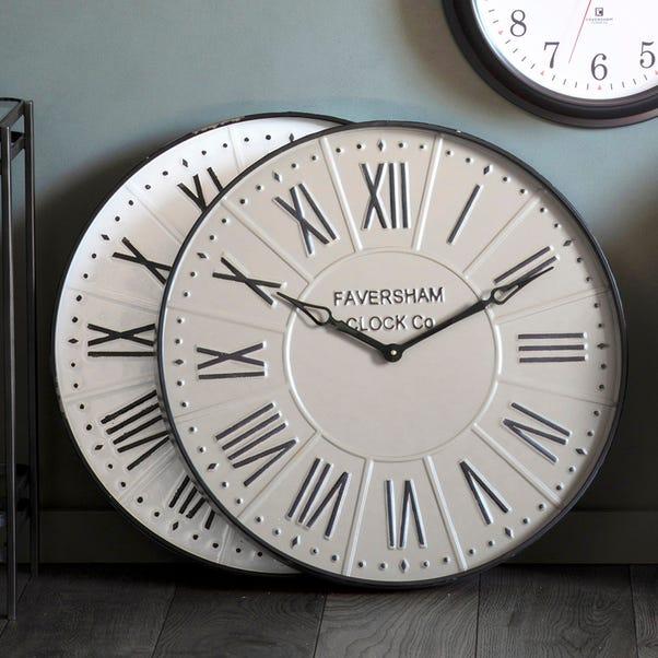 Burnett Mirage Grey Clock Grey