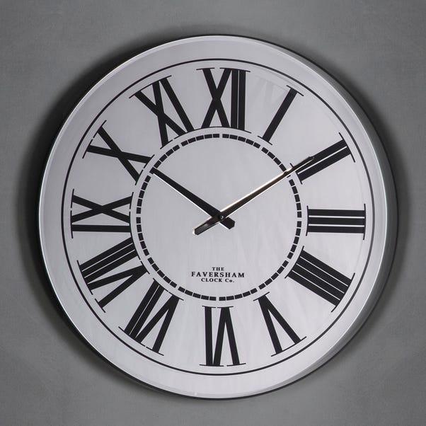 Heycroft Clock Black