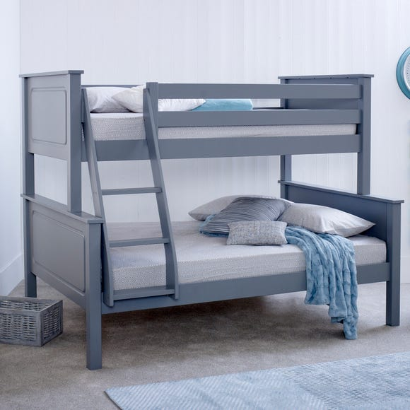 Ashley Triple Sleeper with Memory Foam Mattress - Grey Grey undefined