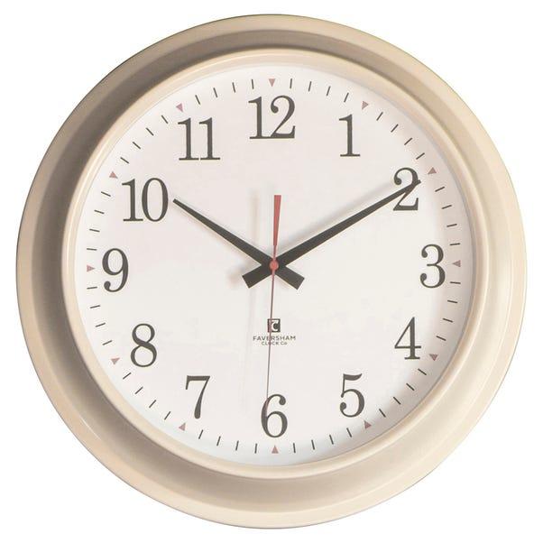 Winston Cream Clock