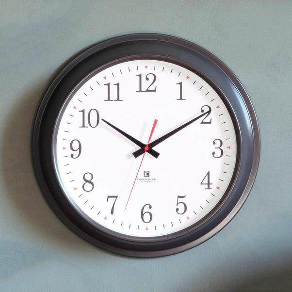 Winston Grey Clock Grey