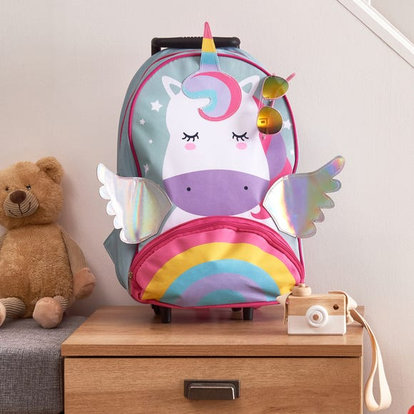 Kids Unicorn Backpack Multi Coloured