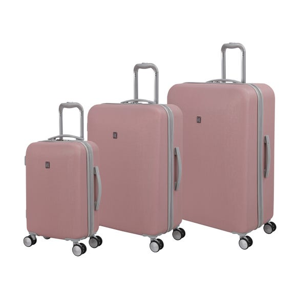 IT Luggage Optative Pink Suitcase  undefined