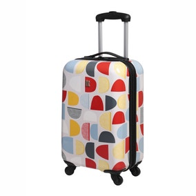 Sten 4 Wheel Multi Coloured Cabin Case