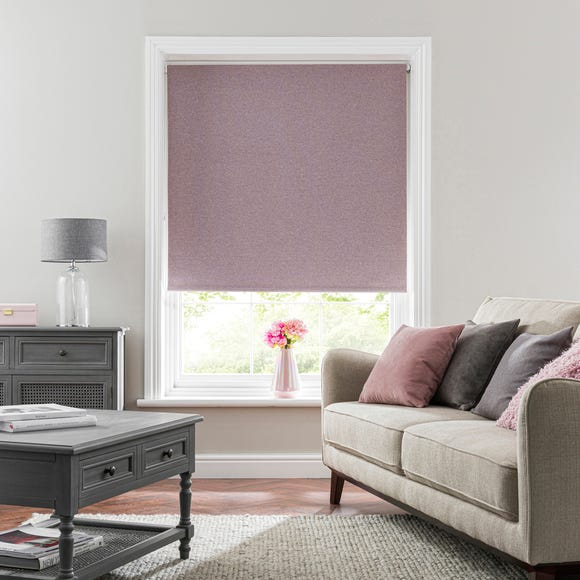 Luna Heather Blackout Roller Blind  undefined