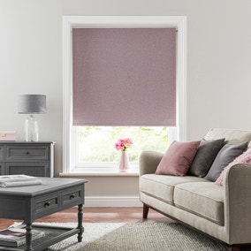 Luna Heather Blackout Roller Blind