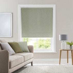 Luna Sage Blackout Roller Blind