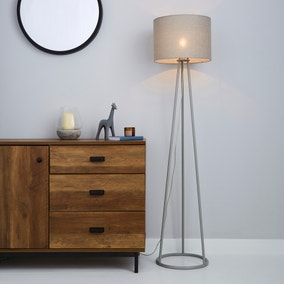 Sara Grey Floor Lamp
