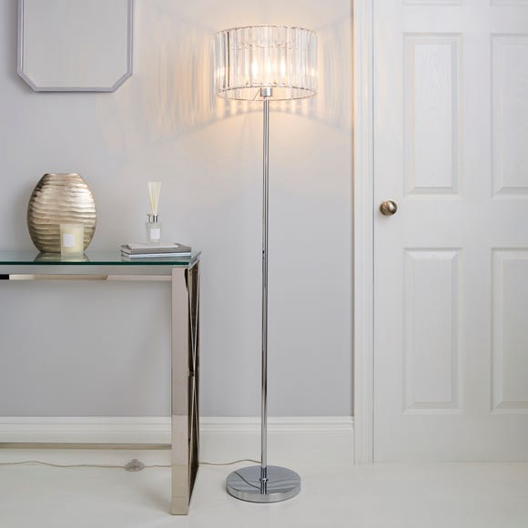 Prism Chrome Floor Lamp Chrome