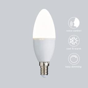 Status Smart Alexa 5.5 Watt CT SES Candle Bulb