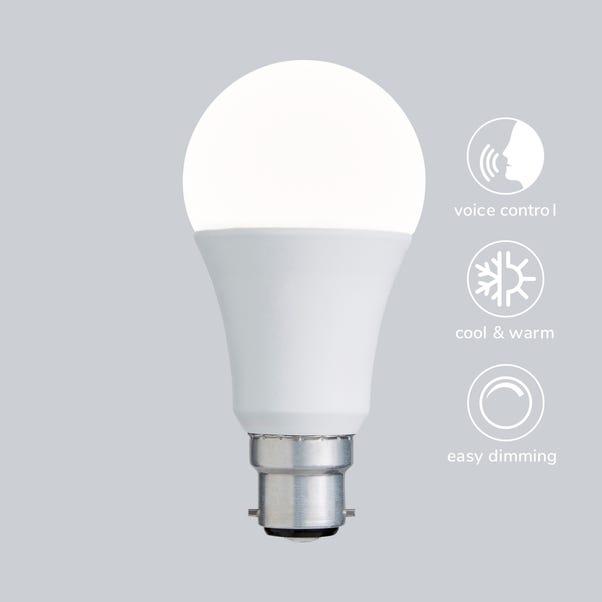 Status Smart Alexa 9 Watt GLS LED CT BC Bulb Multi Coloured