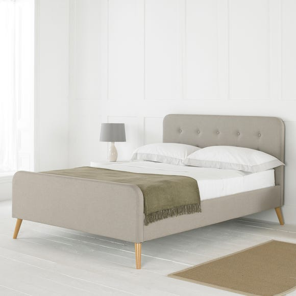 Renee Bed Frame Oatmeal (Brown) undefined