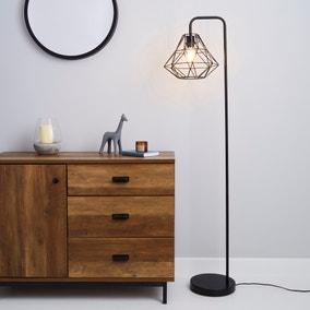 Bremen Black Floor Lamp