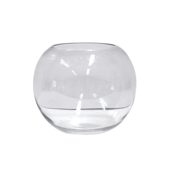 Clear Glass Fishbowl Clear